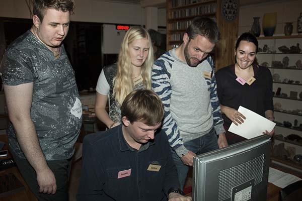 escape room: teambuilding in actie
