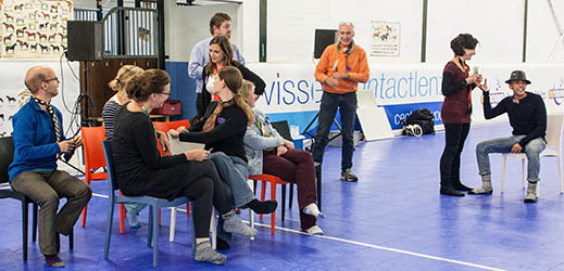 theaterworkshop en teambuilding